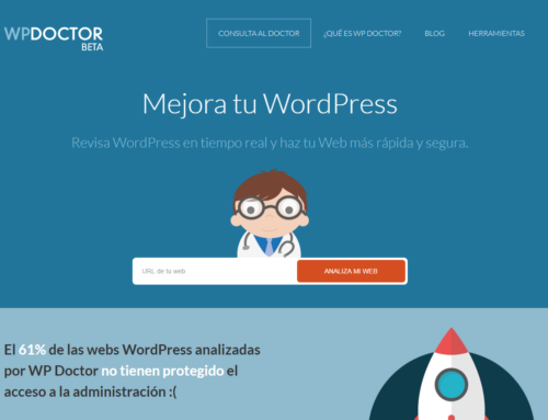 Revisa la salud tu WordPress con WP Doctor