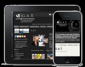 Web antigua G.A.T Consultors Associats De Balears S,L