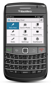 WordPress para BlackBerry